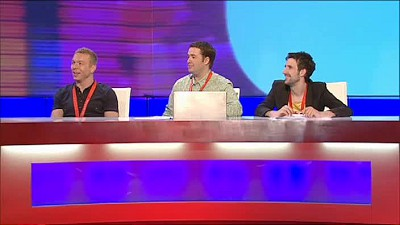 Jamelia, Christopher Biggins, Chris Hoy and Mark Watson