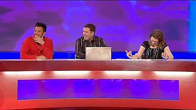 Peter Andre, Greg Davies, Sarah Millican, John Thomson