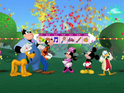 Mickey Et Ses Amis Cupe Cake