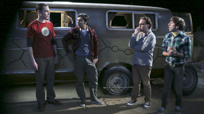 The Big Bang Theory - The Bachelor Party Corrosion - Season 9 Episode 3