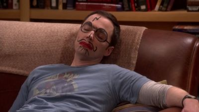 The Big Bang Theory - The Positive Negative Reaction - Season 9 Episode 16