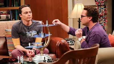 The Big Bang Theory - The Grant Allocation Derivation - Season 12 Episode 7