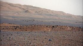Curiosity at Mars