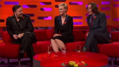 Johnny Depp, Ricky Gervais, Ed Byrne, Snow Patrol