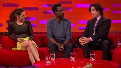 Kristen Stewart, Chris Rock, Stephen Mangan and Engelbert Humperdinck