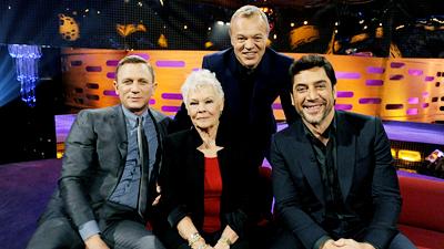 Daniel Craig, Dame Judi Dench and Javier Bardem
