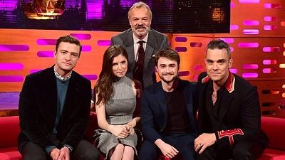 Justin Timberlake, Anna Kendrick, Daniel Radcliffe, Robbie Williams