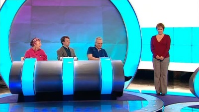 Carol Vorderman, Larry Lamb, Jo Brand, Russell Howard