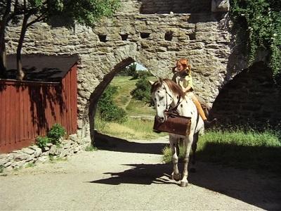 Pippi Moves to Villekulla