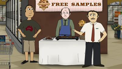The Sausage Salesman