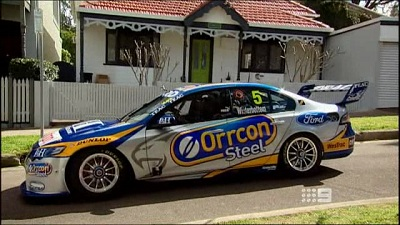 V8 Supercar on the Loose