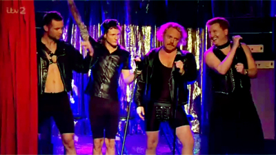 Dougie In Harry's Pants - Celebrity Juice - YouTube