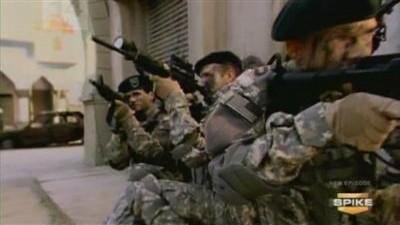 Green Beret vs. Spetsnaz