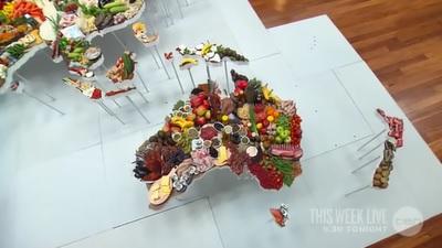 World Food Week Day 4: Qantas World Map of Food