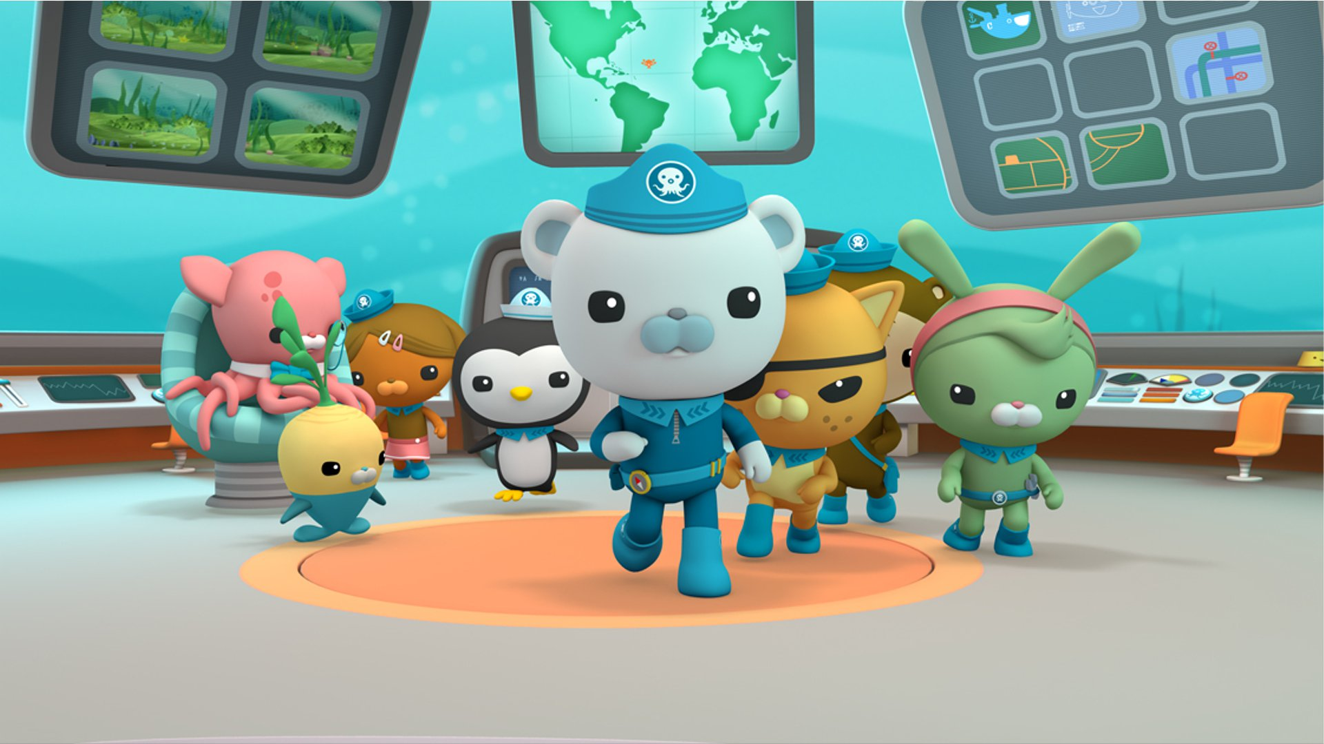 The Octonauts and the Chinese Giant Salamander