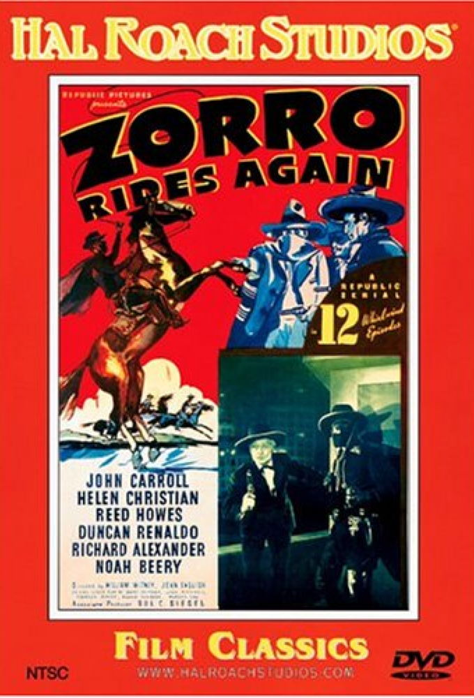 Zorro Rides Again on FREECABLE TV