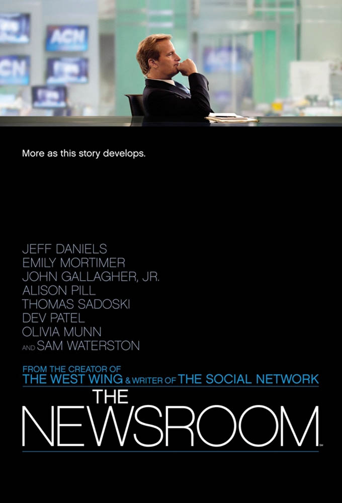 The Newsroom (2012) poster