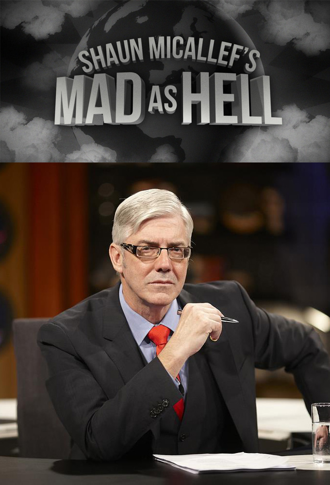 Shaun Micallef's Mad as Hell cover