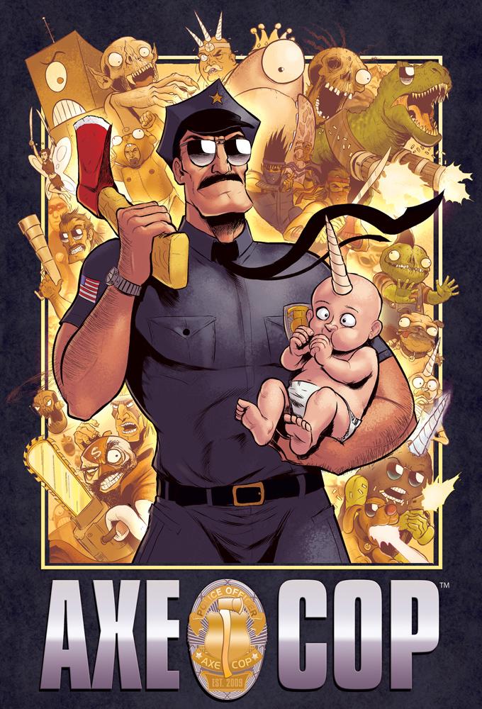 Capitulos de: Axe Cop