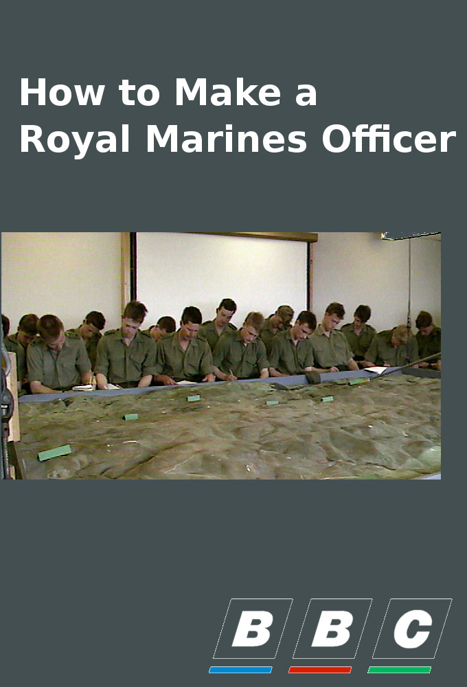 How to Make a Royal Marines Officer