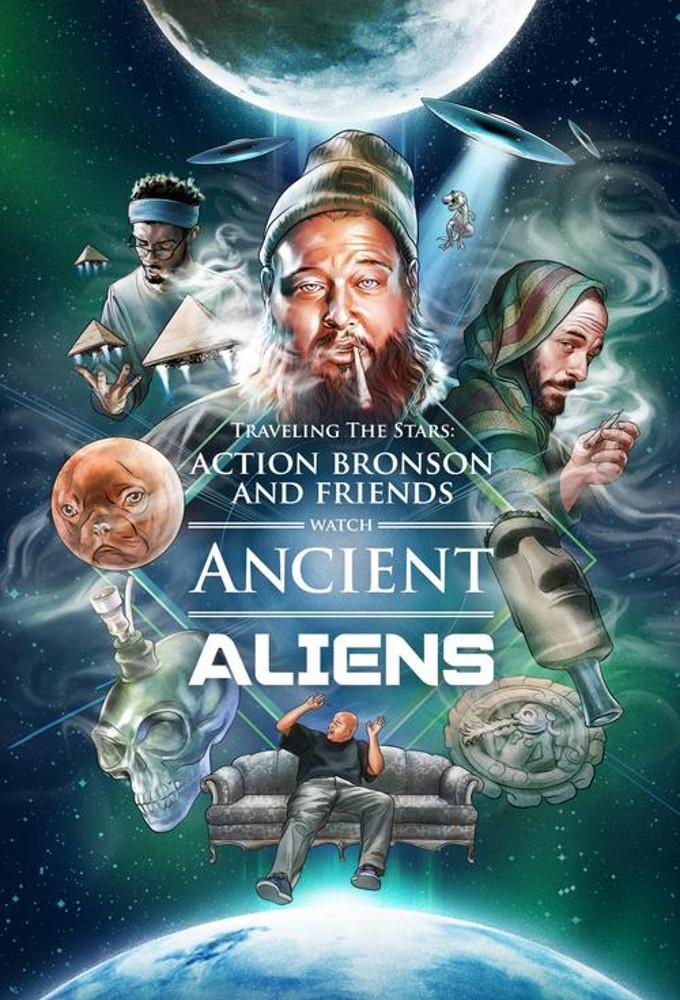 Watch Action Bronson & Friends Watch Ancient Aliens online