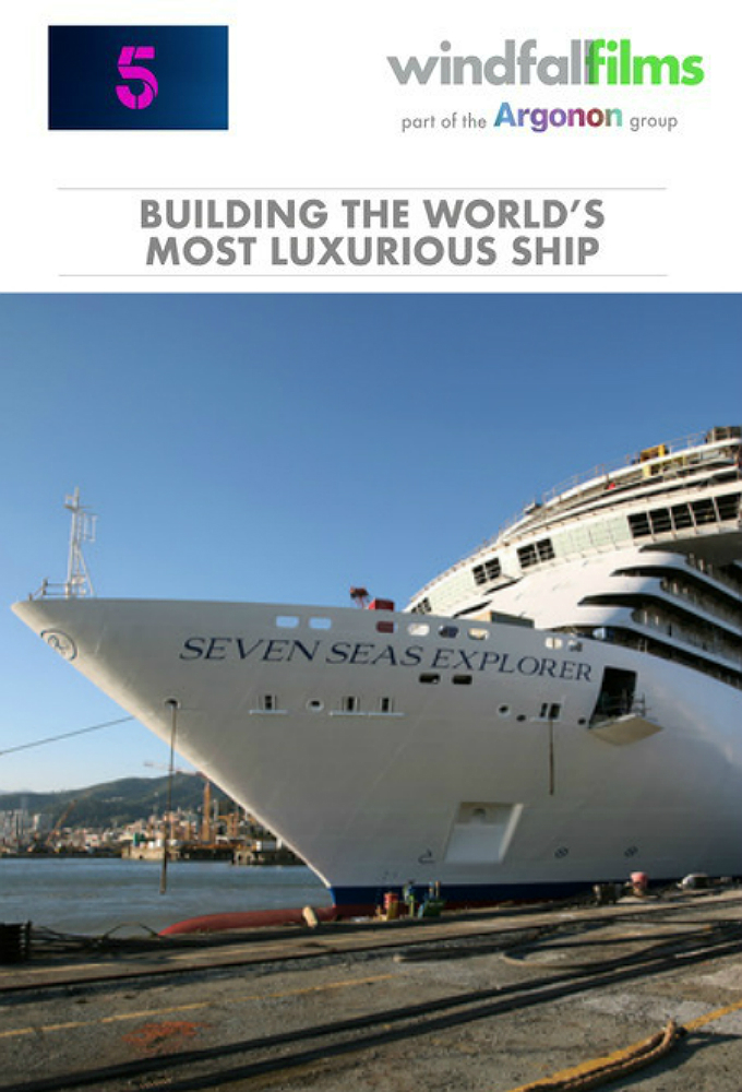 Building The Worlds Most Luxurious Cruise Ship