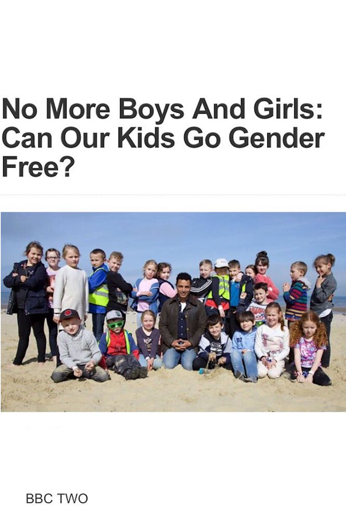 No More Boys And Girls: Can Our Kids Go Gender Free?