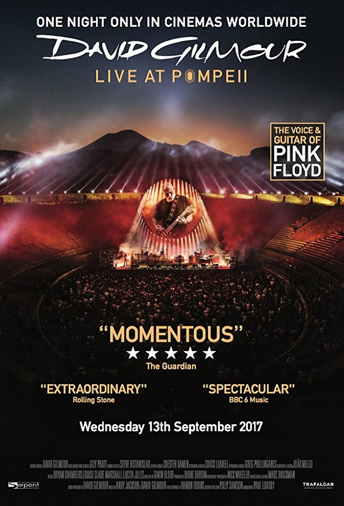 David Gilmour Live at Pompeii (2017)
