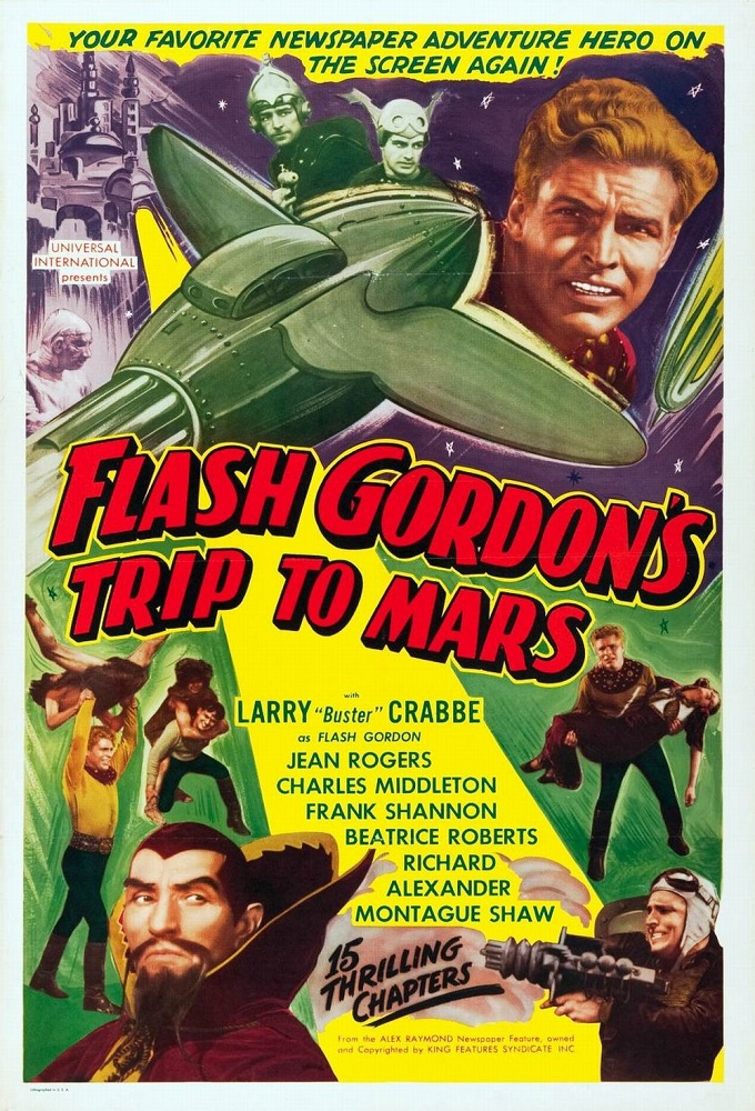 Flash Gordon's Trip to Mars on FREECABLE TV