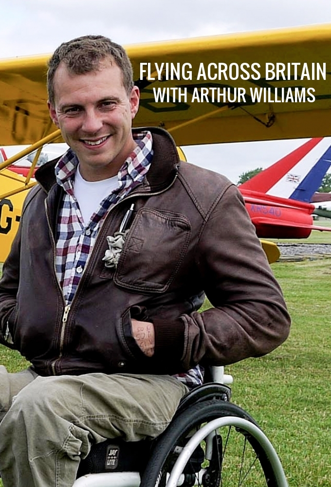 Flying Across Britain with Arthur Williams on FREECABLE TV