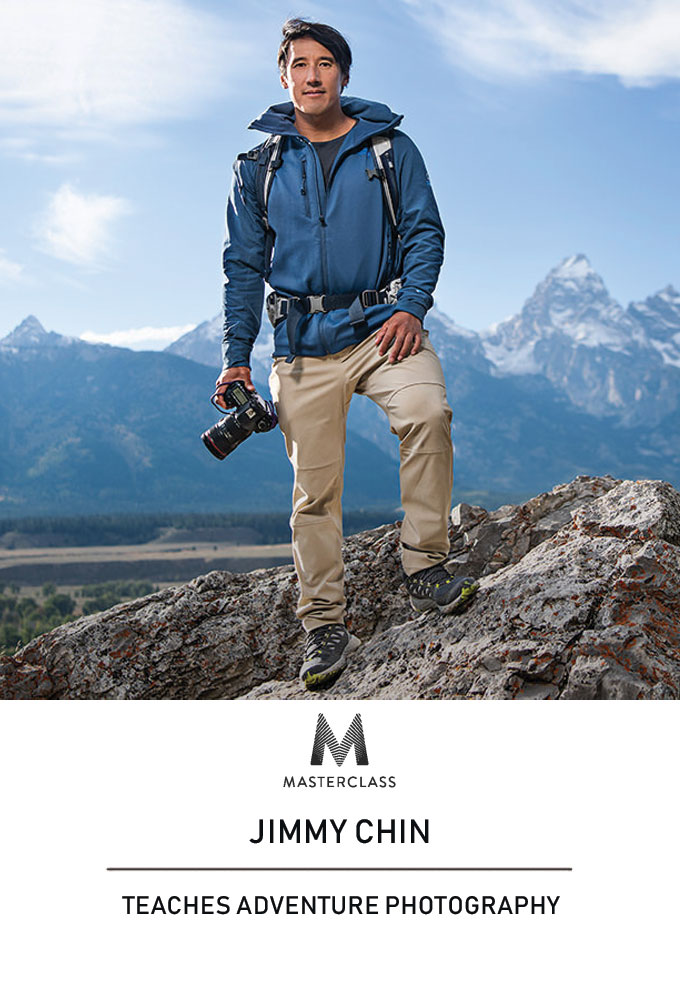 MasterClass: Jimmy Chin Teaches Adventure Photography