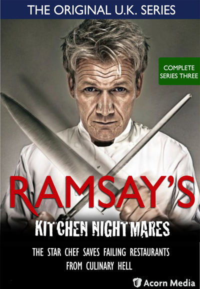 Kitchen Nightmares Dvd Set