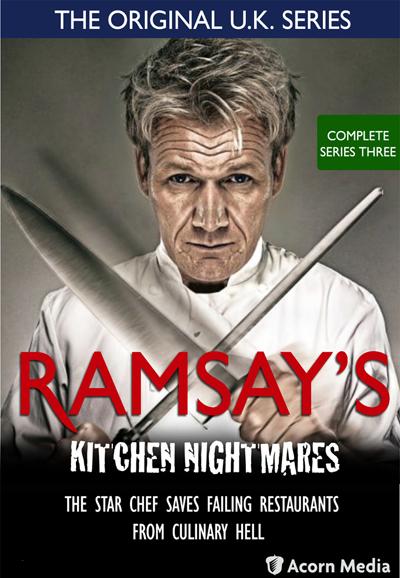 Kitchen Nightmares Dvd Usa