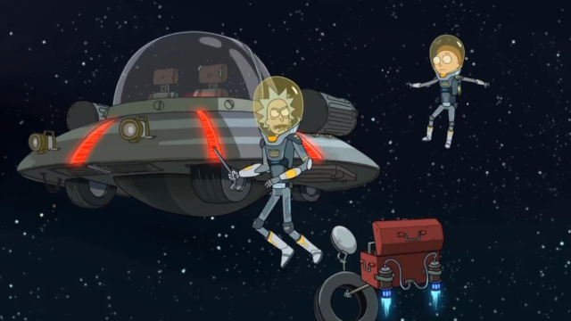 Watch Rick and Morty - Season 4 Episode 5 : Rattlestar Ricklactica Online Free  TV Shows & Movies